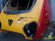 Virgin Train Damaged